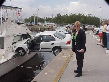 car-between-boat-and-land